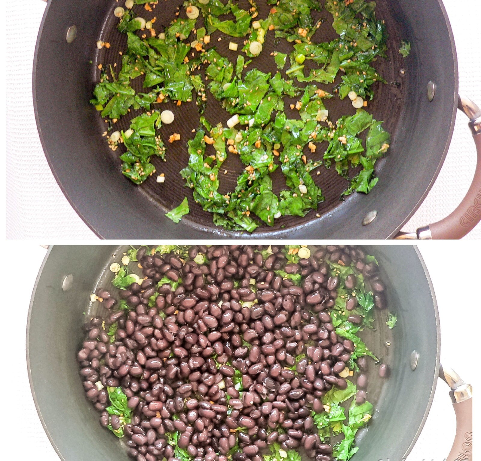 steps to cook black beans