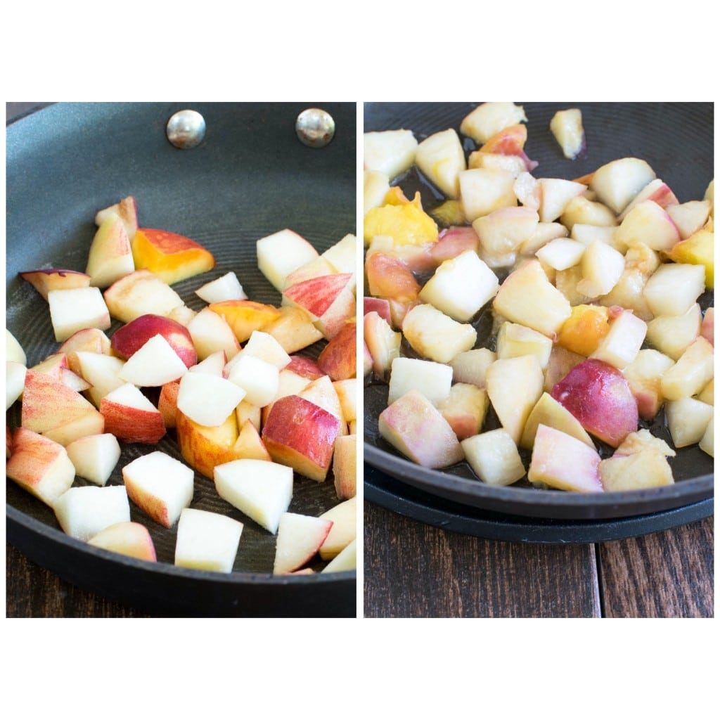 steps to roast peaches