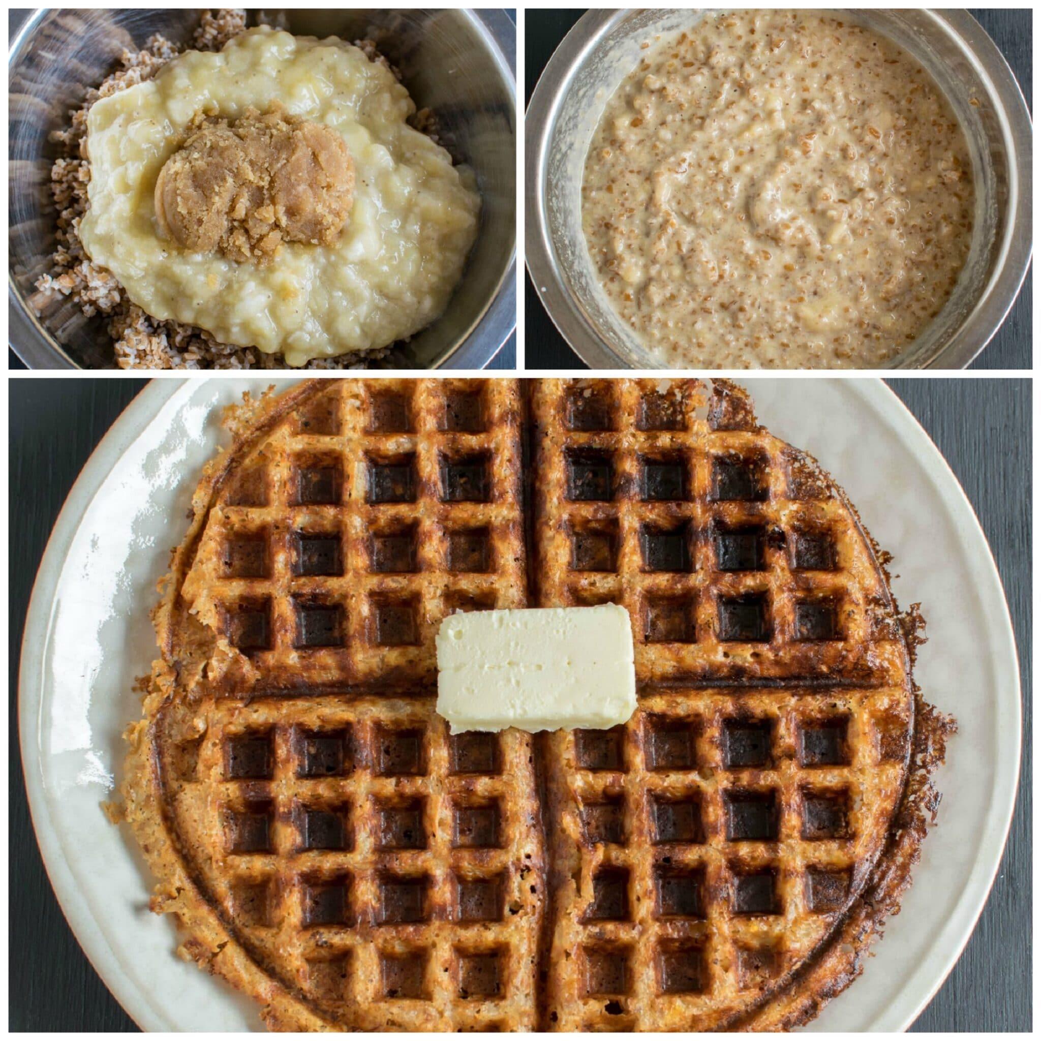 Peanut Butter Bulgur Waffles | homemade peanut butter and whole grain ...