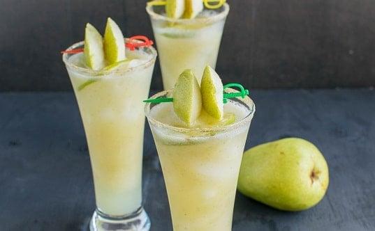 Pear Ginger Mocktail