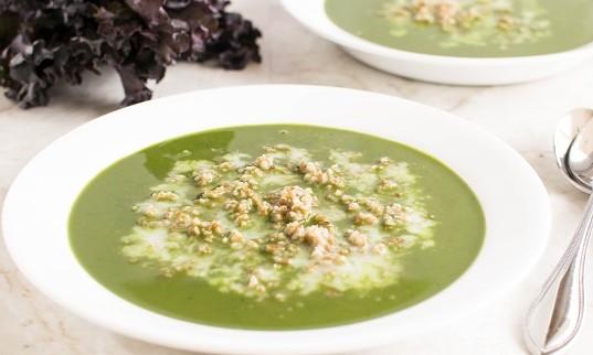 Kale Bulgur Soup