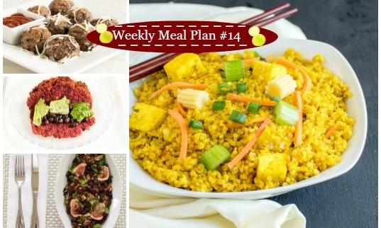 Weekly Meal Plan #14