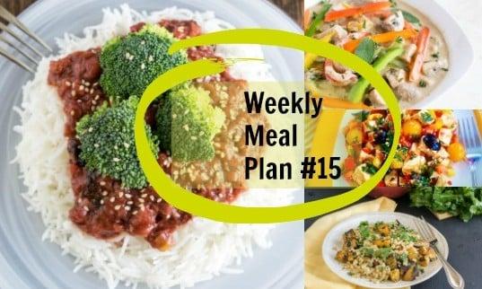 Weekly Meal Plan #15