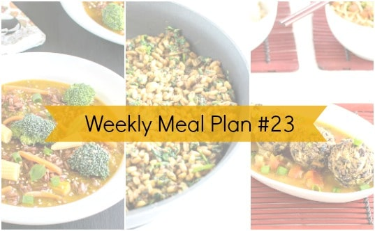 Weekly Meal Plan #23 + Father's Day Recipe Ideas