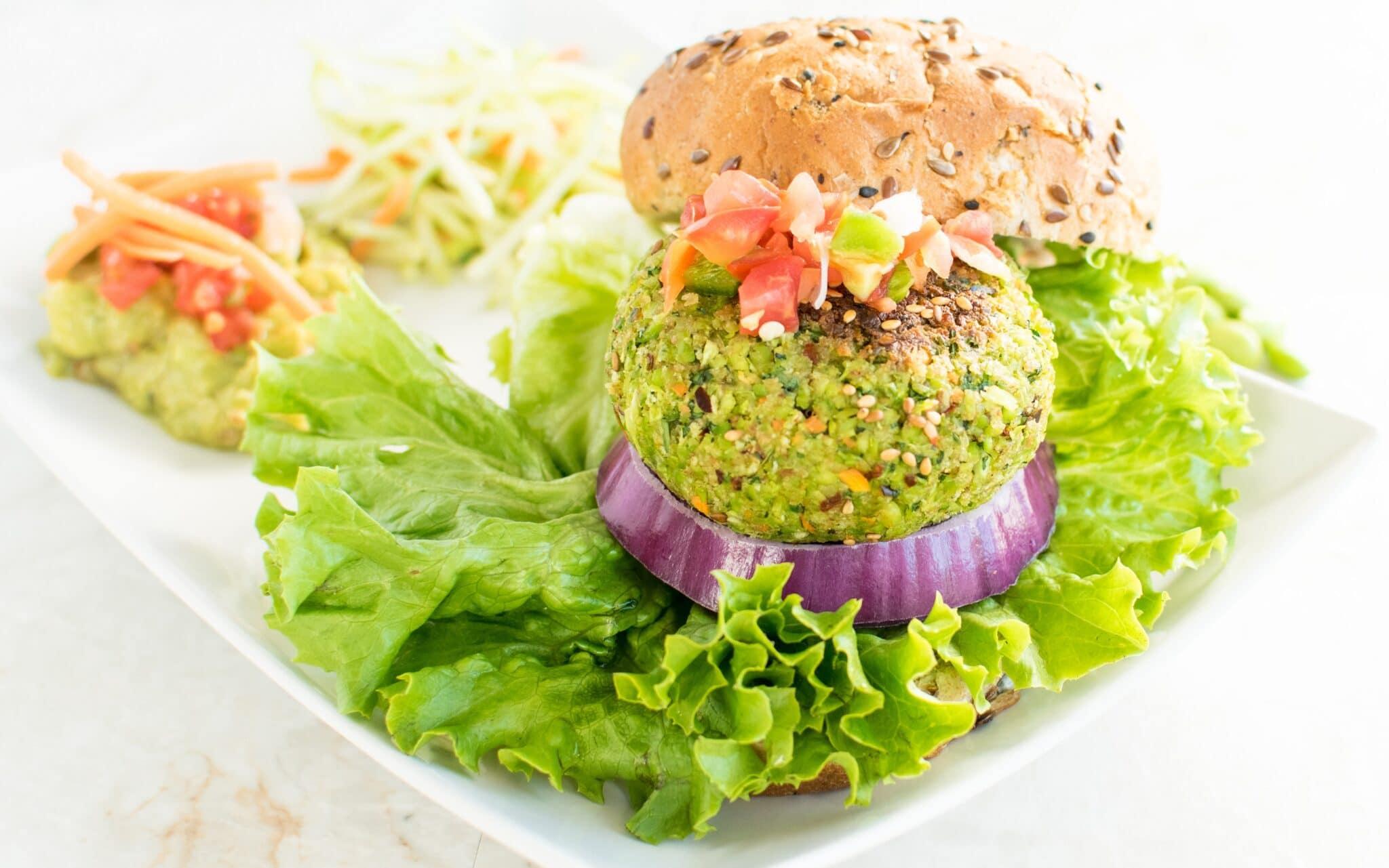 Edamame Burger Recipes — Dishmaps