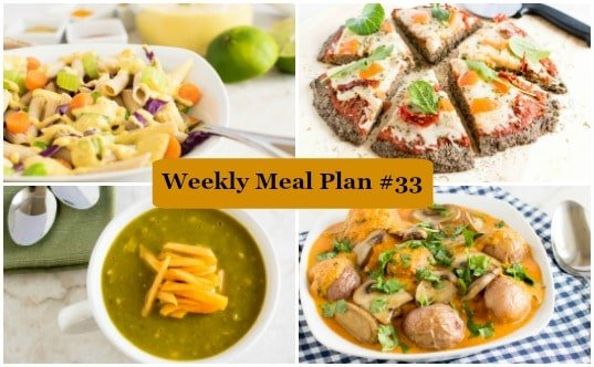 Weekly Meal Plan #33