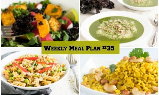 Weekly Meal Plan #35