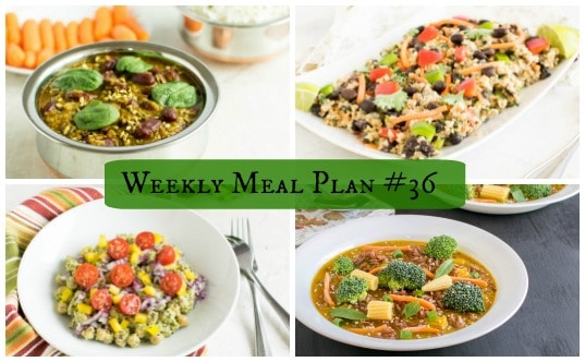 Weekly Meal Plan #36