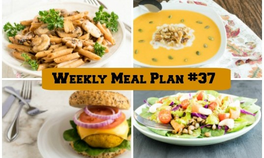 Weekly Meal Plan #37