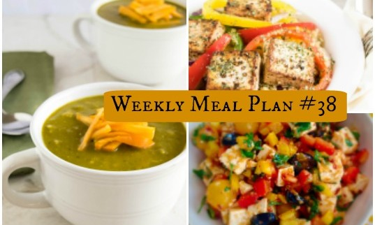 Weekly Meal Plan #38