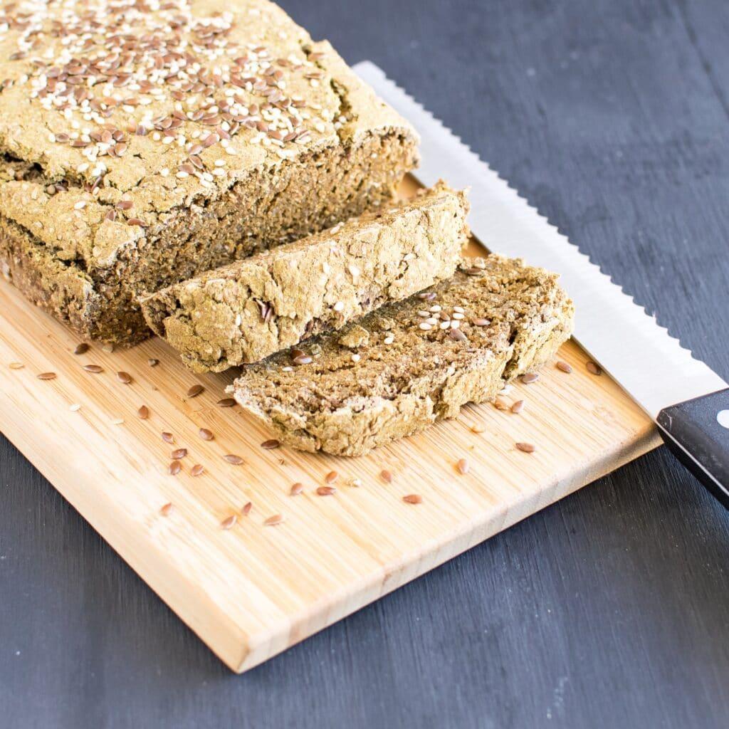 Sliced Teff Wheat Bran Chia Bread