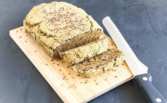 Teff Wheat Bran Chia Bread