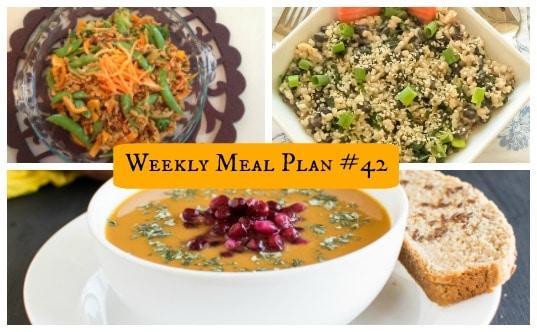 Weekly Meal Plan #42