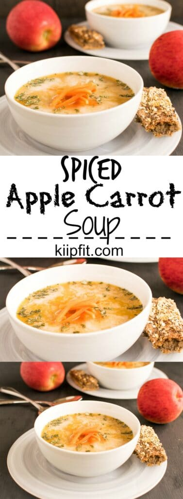 Multiple Spiced Apple Carrot Soup