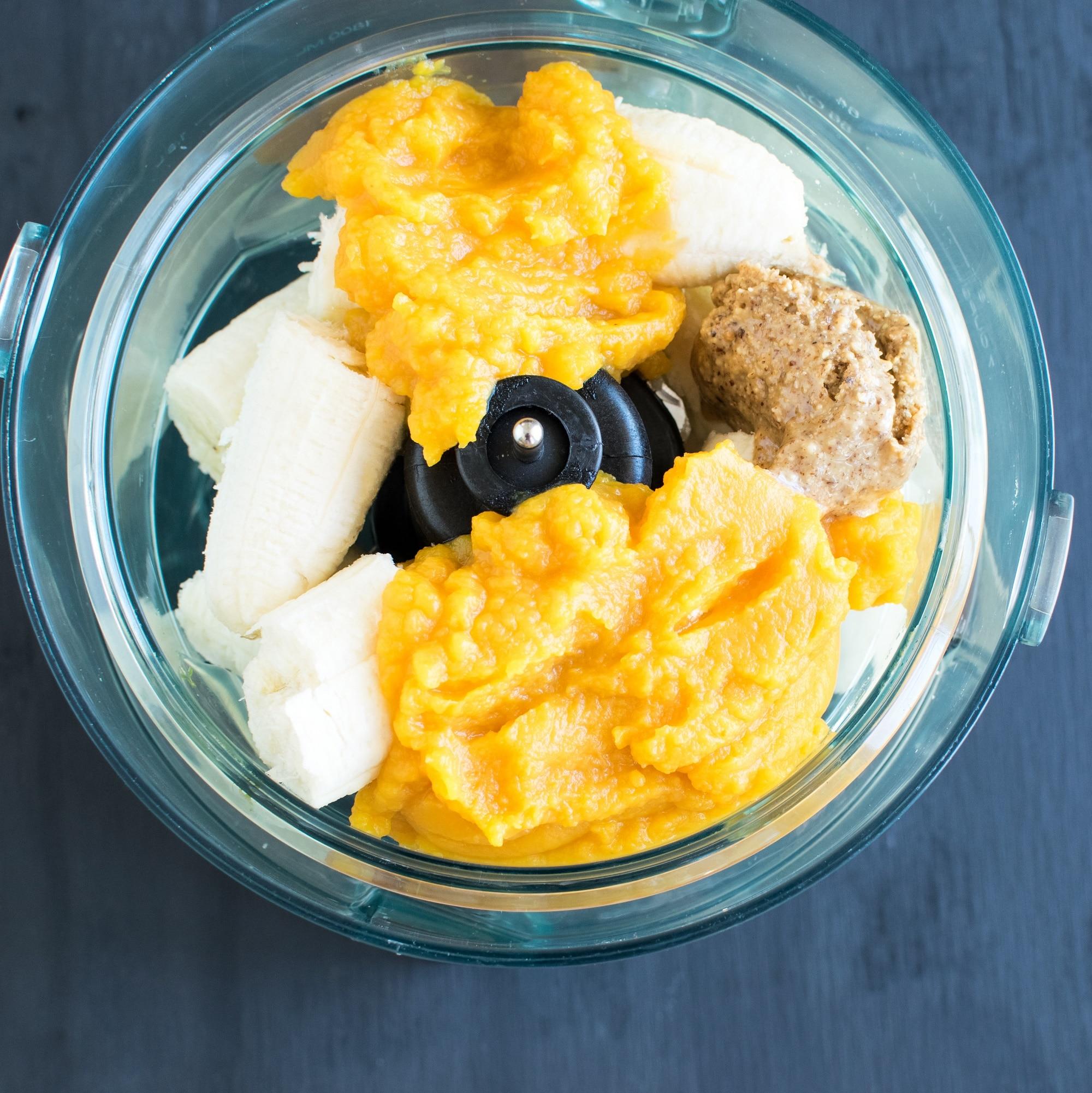Paleo Pumpkin Almond Waffles | vegan Halloween brunch to indulge guilt-free | cholesterol free and naturally sweetened | kiipfit.com