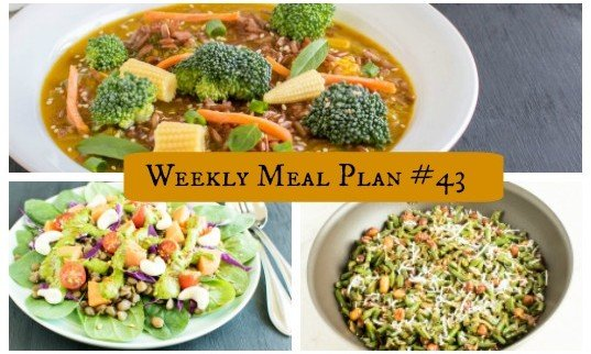 Weekly Meal Plan #43