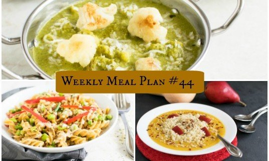 Weekly Meal Plan #44