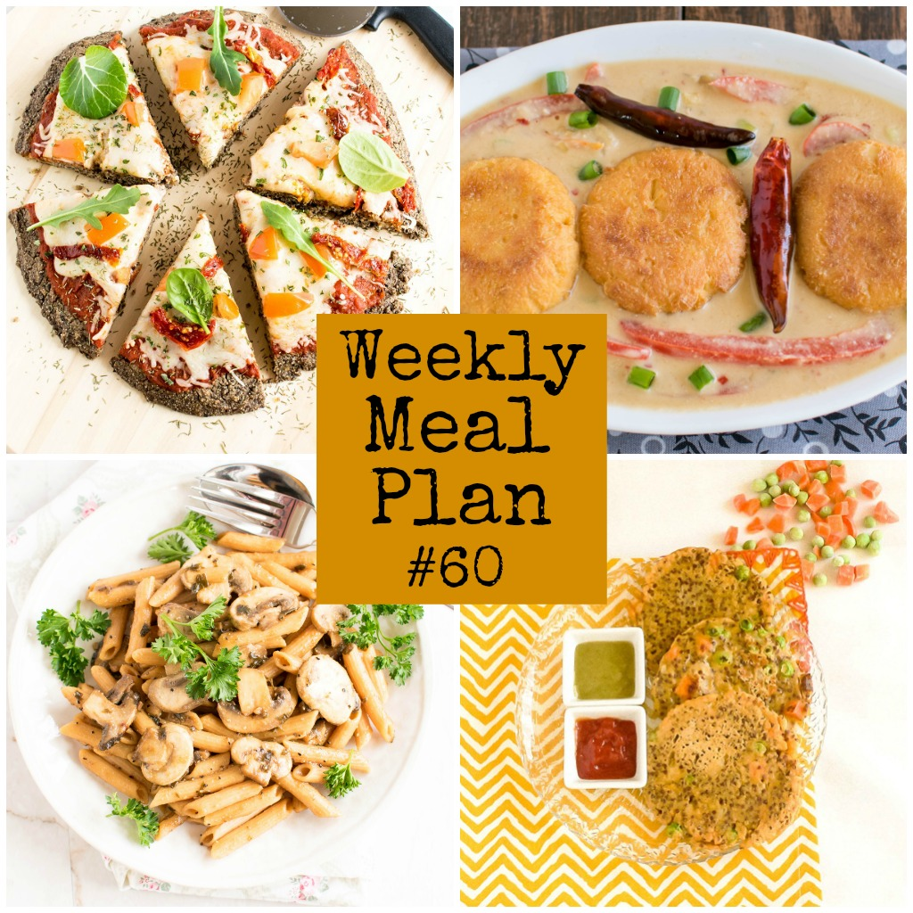 Weekly Meal Plan #60 | healthy vegan and vegetarian recipes | kiipfit.com