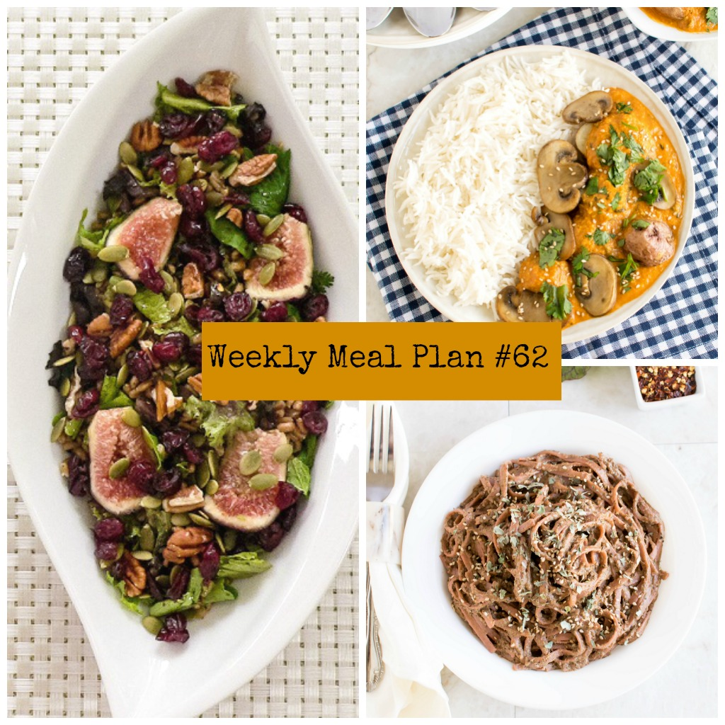Weekly Meal Plan #62 | healthy vegan and vegetarian recipes | kiipfit.com