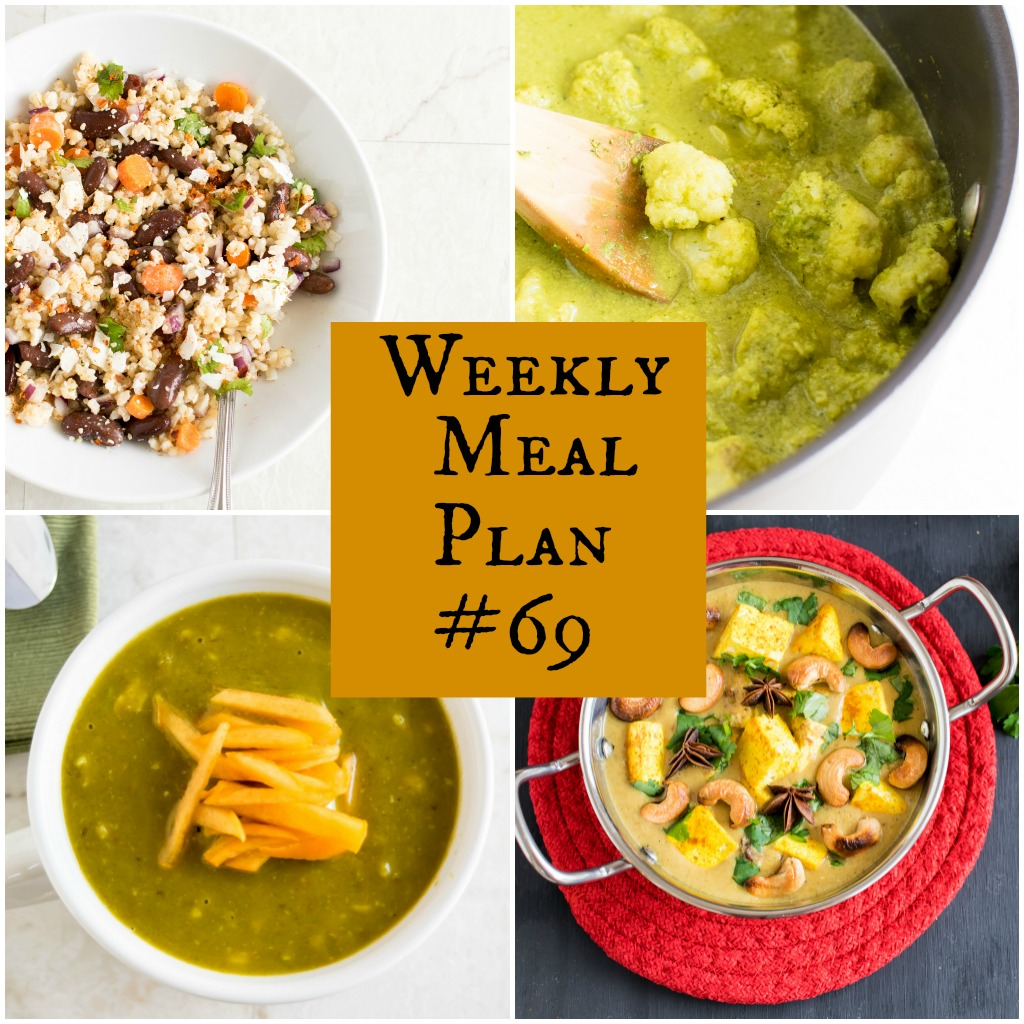 Weekly Meal Plan #69   healthy vegan and vegetarian recipes   kiipfit.com