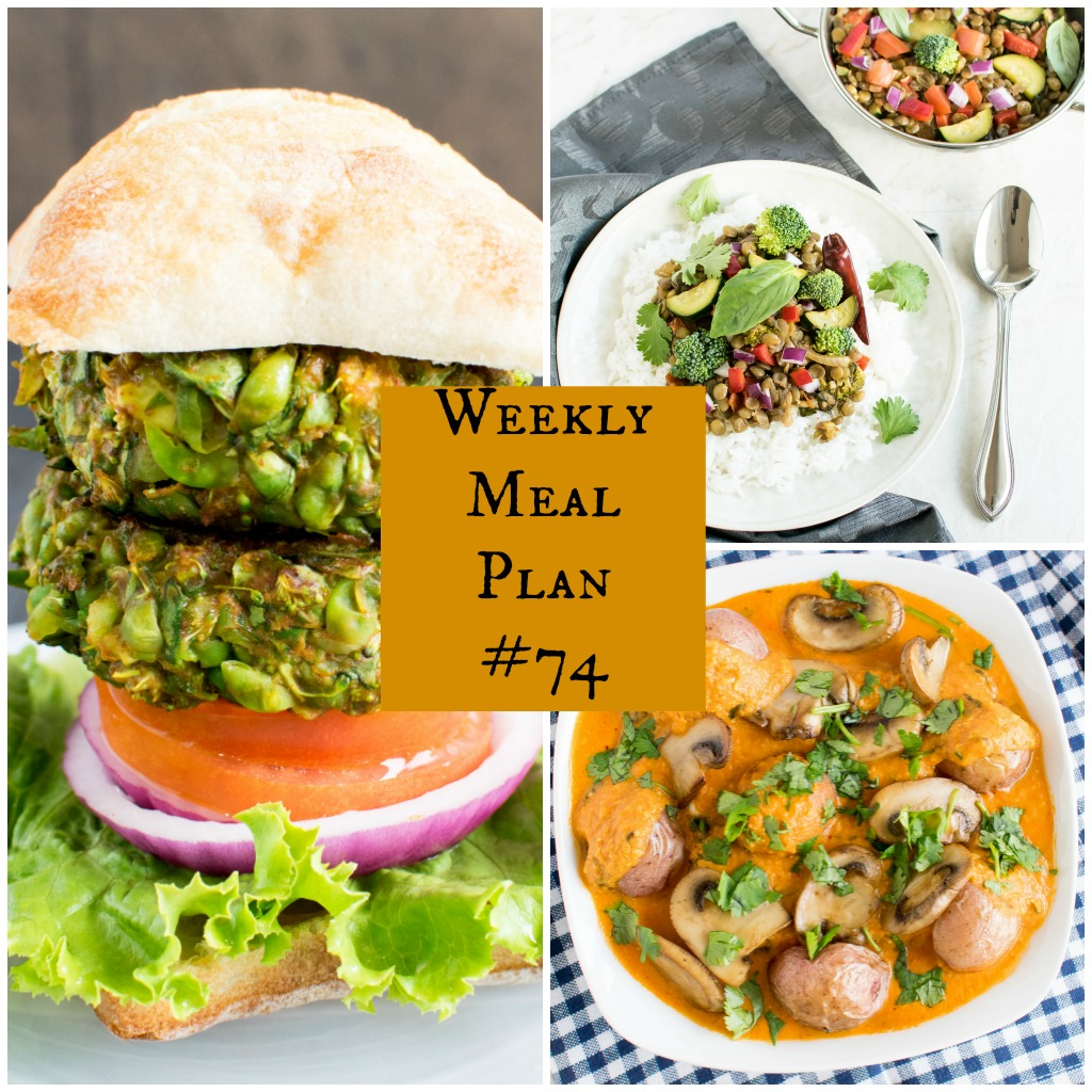 Weekly Meal Plan #74 | healthy vegan and vegetarian recipes | kiipfit.com
