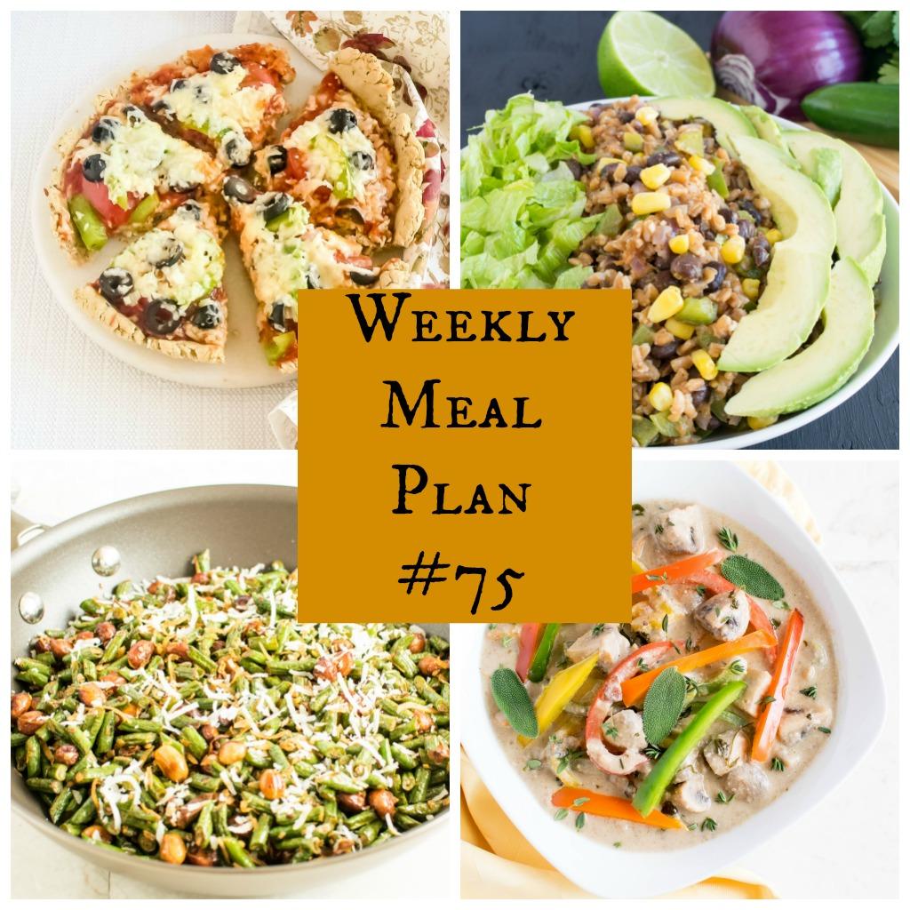 Weekly Meal Plan #75 | healthy vegan and vegetarian recipes | kiipfit.com