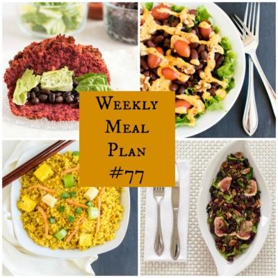 Weekly Meal Plan #77 | healthy vegan and vegetarian recipes | kiipfit.com