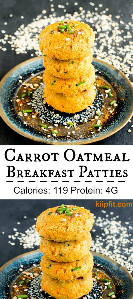 Multiple images of Carrot Oatmeal Breakfast Patties are scrumptious wholesome morning meal with utmost nutrition. At the same time these patties serve as excellent evening snacks as well. These patties are a complete delight to the taste buds and filling for our tummies. With the combination of fiber and whole grain Carrot Oatmeal Breakfast Patties