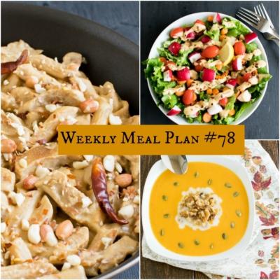 Weekly Meal Plan #78 \ healthy vegan and vegetarian recipes | kiipfit.com