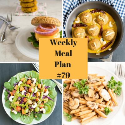 Weekly Meal Plan #79 | healthy vegan and vegetarian recipes | kiipfit.com