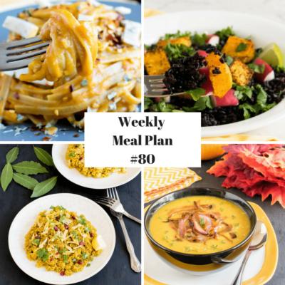 Weekly Meal Plan #80 | healthy vegan and vegetarian recipes | kiipfit.com