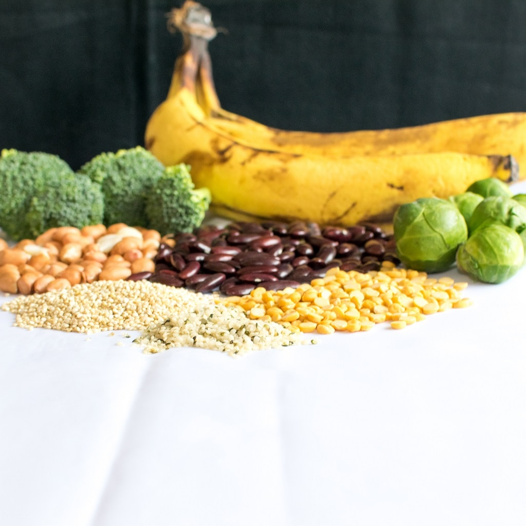 Whats The Hype for Protein in vegan Diet shows the sources of protein that are easily available   kiipfit.com