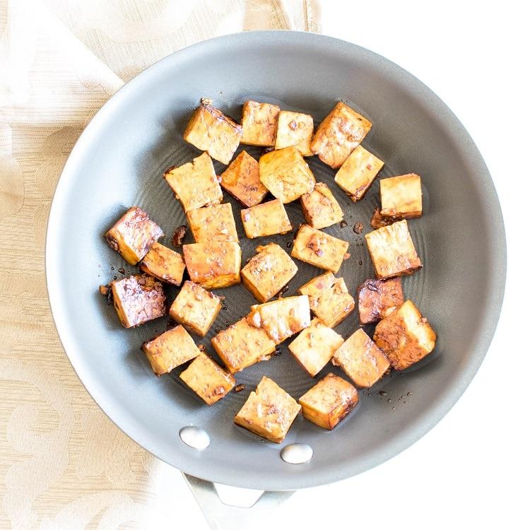 Cooked tofu