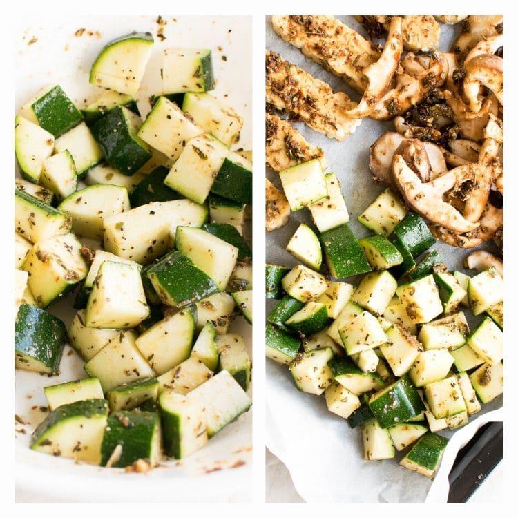 steps to prep zucchini