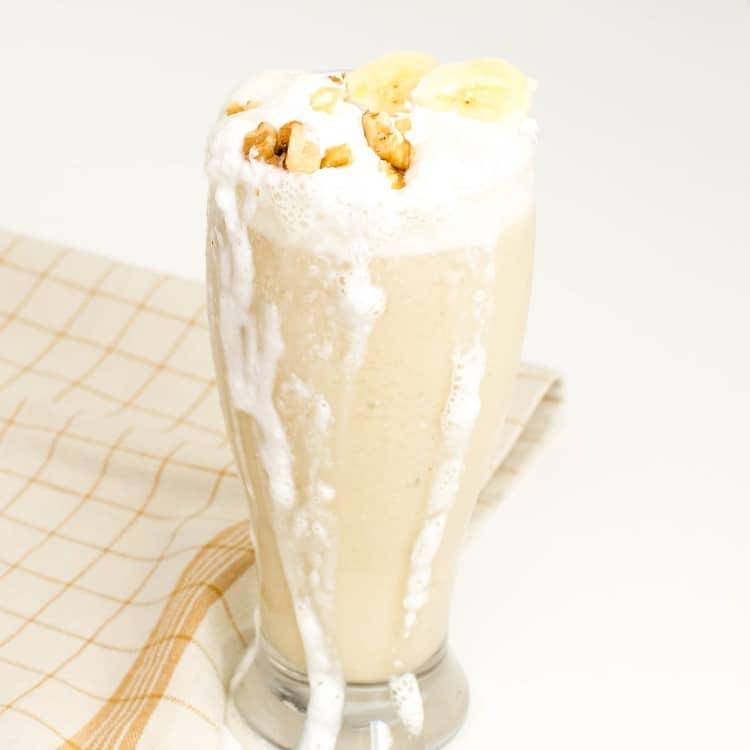Banana Milkshake Vegan Dairy Free Gluten Free Kiipfit Com