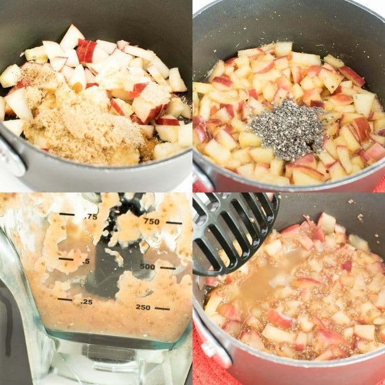 steps to make apple jam