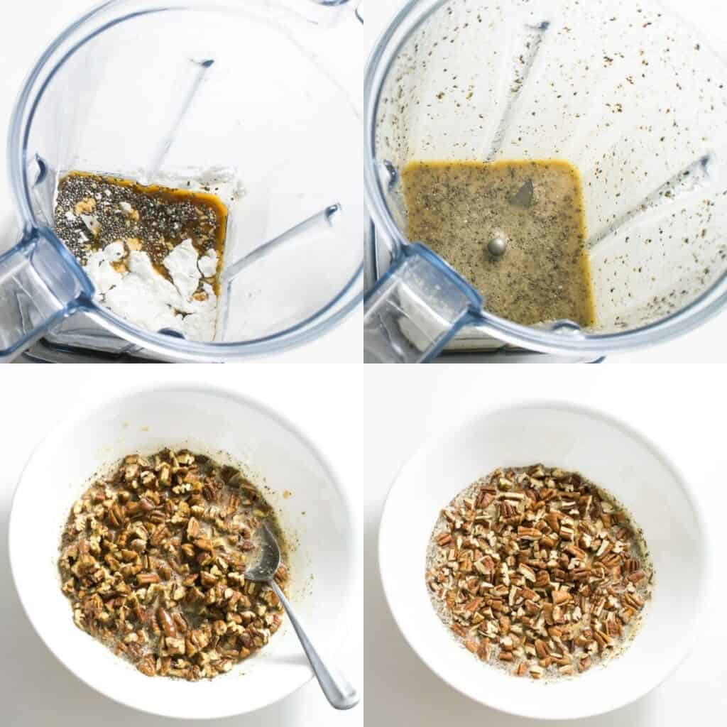 steps to make the filling.