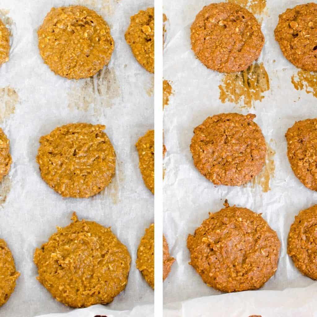steps to shape and bake.