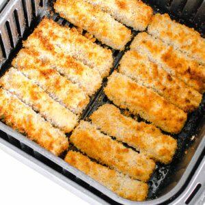air fried tofu katsu