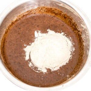 flour batter