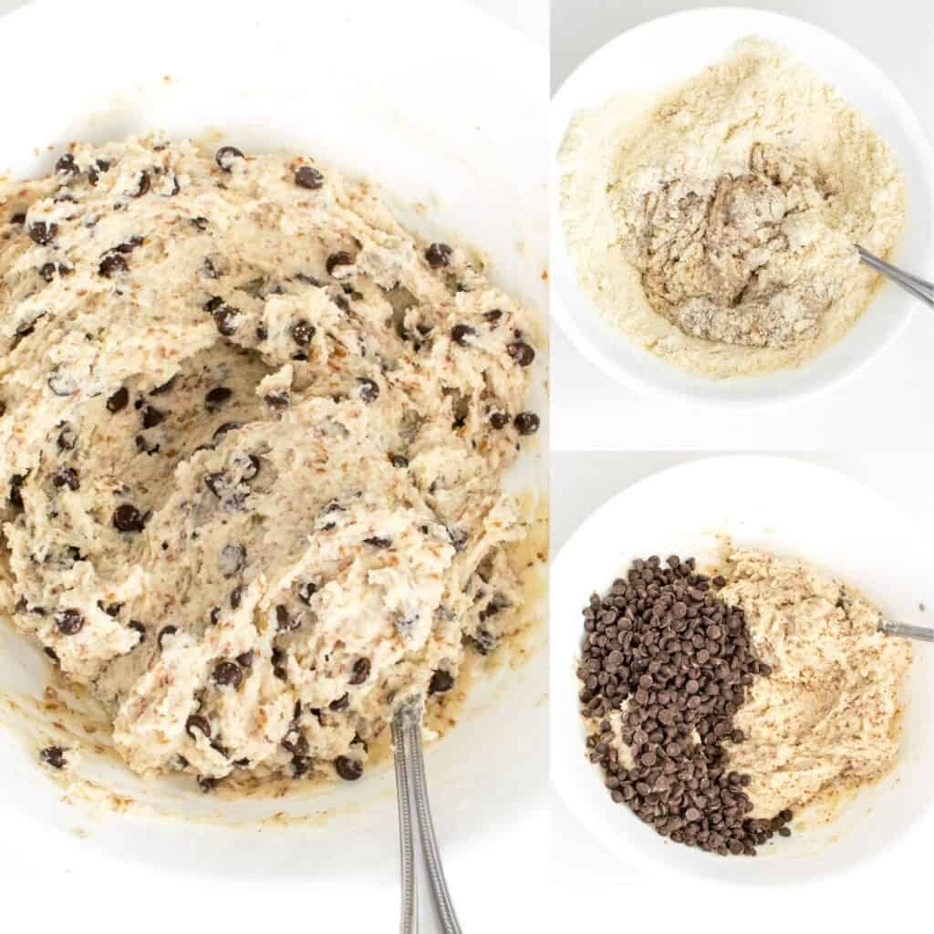 steps to whip up the batter.