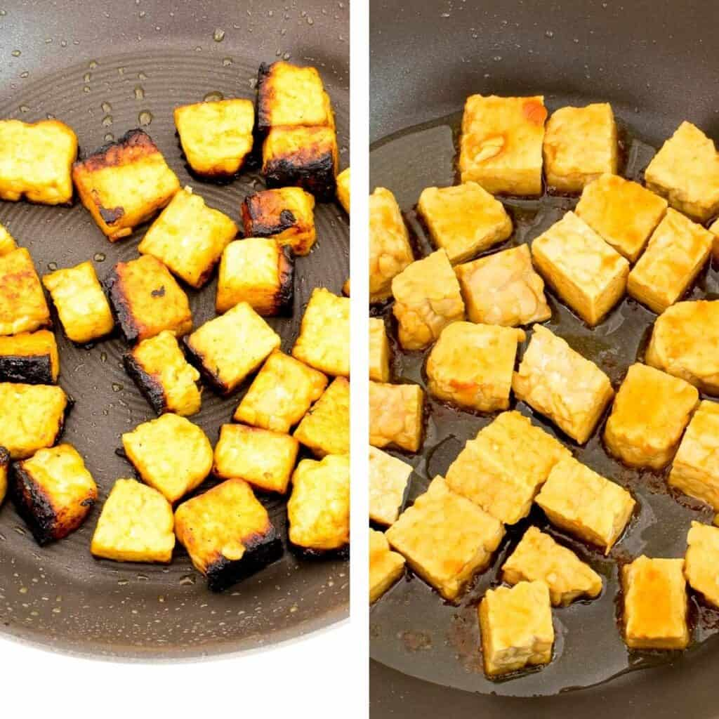 steps to roast or cook.