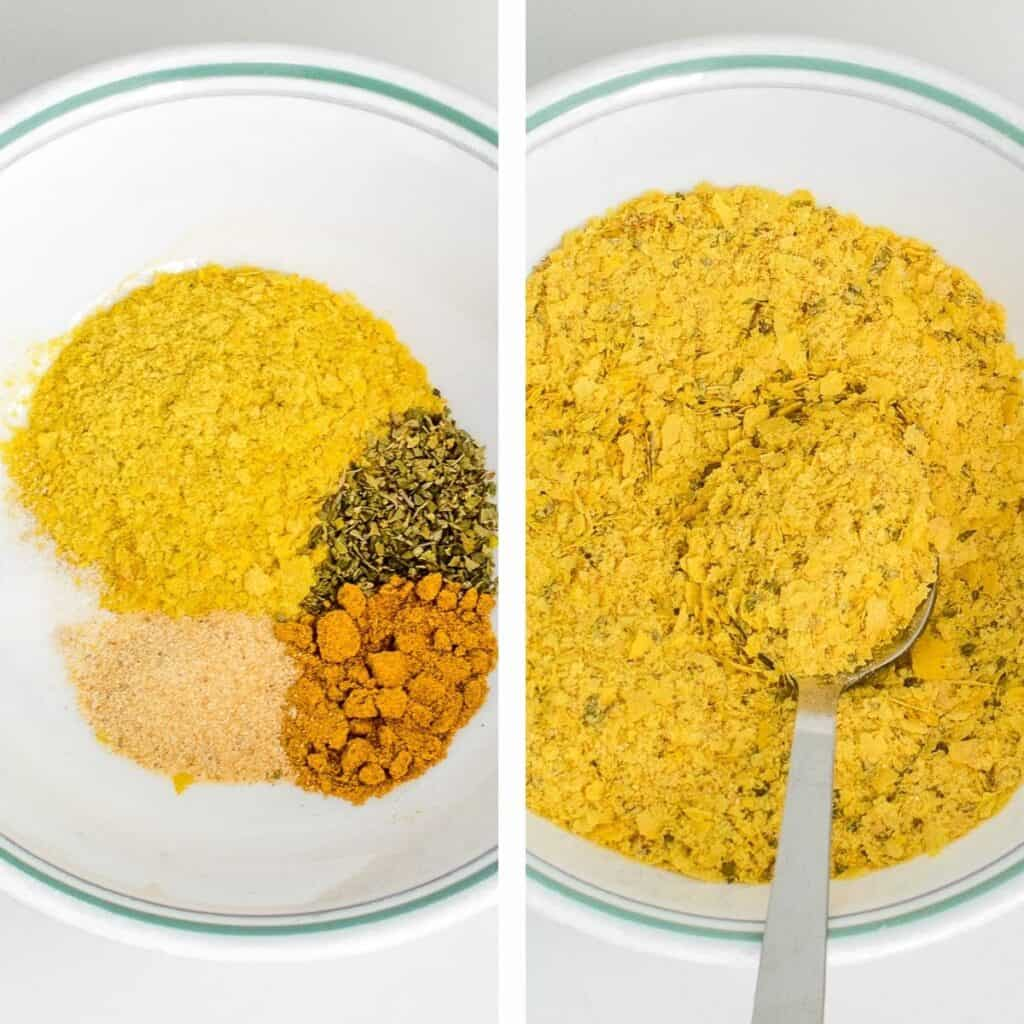 steps to make marinate.