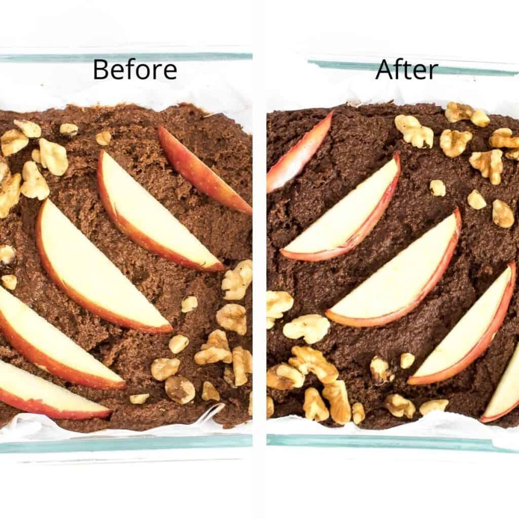 steps to bake.
